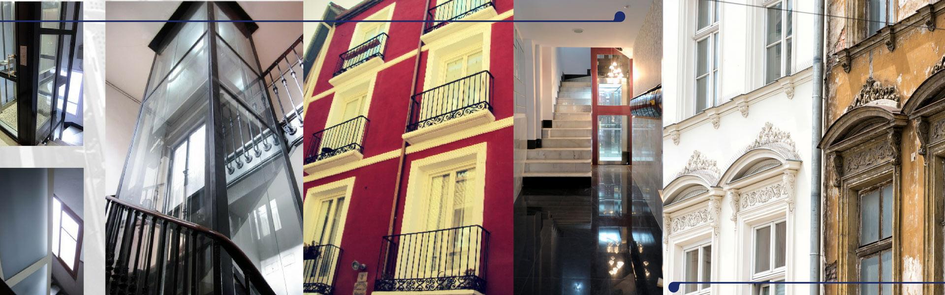 Instalación de ascensores y rehabilitación de edificios