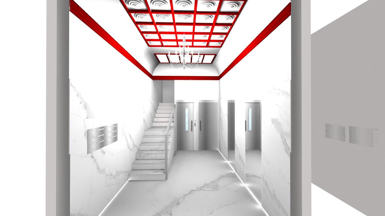 bajada-cota-cero-zaragoza.-ascensores-zaragoza.-vestbulo-diseño-minimalista