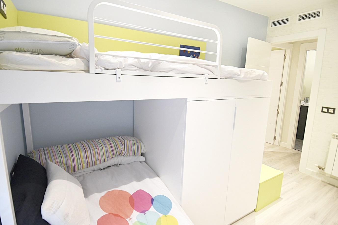 dormitorio-de-niños-verde-pistacho-zaragoza