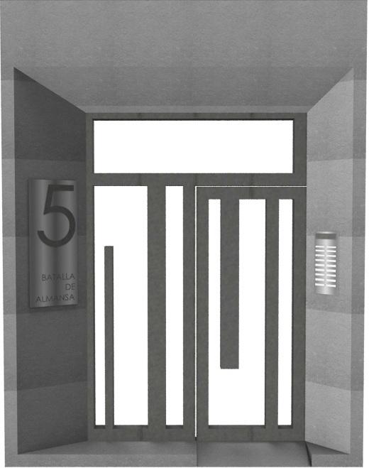 puerta-edificio-de-diseño-zargoza